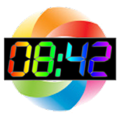 Rainbow Table Clock (2012)