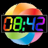 Rainbow Table Clock (2012)