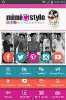 Screenshot of Mimi G Style