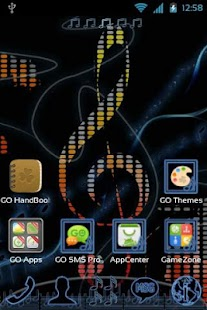 Music Theme for GO Launcher EX- screenshot thumbnail