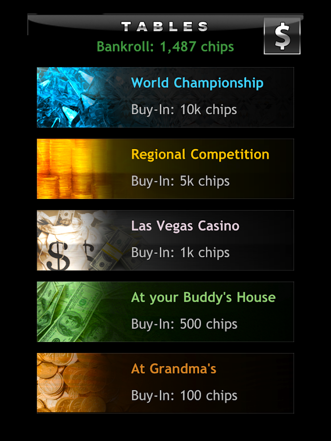 Screenshots of Texas Holdem Offline Poker for iPhone
