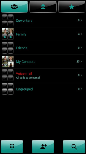 玩個人化App|Dialer theme G Black Green免費|APP試玩