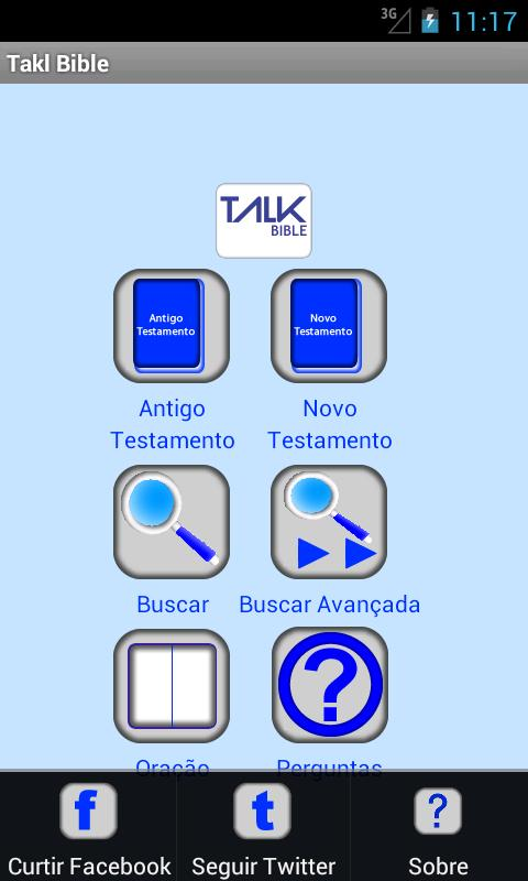TalkBíblia - screenshot