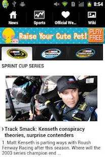 Nascar Fan App - screenshot thumbnail