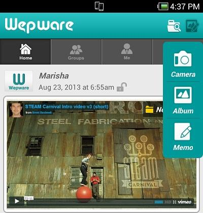 Wepware - screenshot