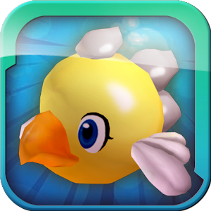 Flying cute bird 3D for PC and MAC