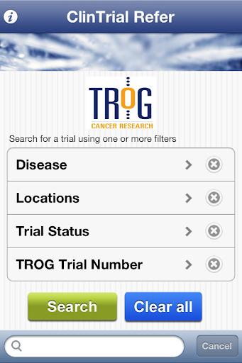 ClinTrial Refer TROG