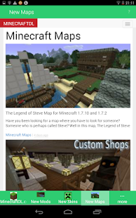 MineC Mods Maps Txt Skins plus 冒險 App-愛順發玩APP