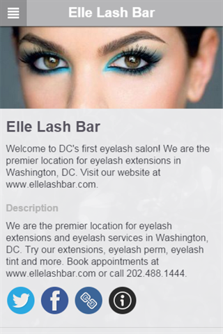 Elle Lash Bar- screenshot