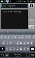 Screenshot of German for Perfect keyboard
