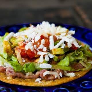 Mexican Tostada.