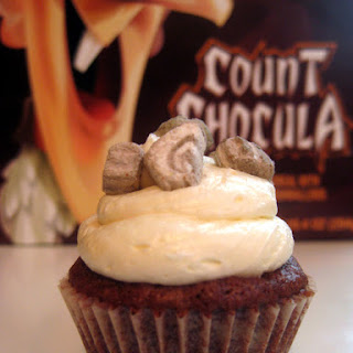 Count Chocula Brownie Bites With Whipped Marshmallow Buttercream