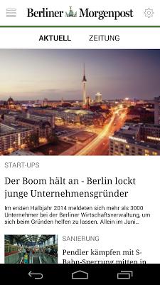 Berliner Morgenpost - News - screenshot
