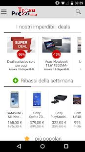 TrovaPrezzi prezzi e shopping - screenshot thumbnail