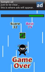 玩免費街機APP|下載Ninja Kitty Rope Climb app不用錢|硬是要APP