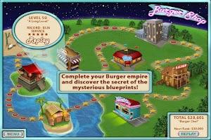 Screenshot of Burger Shop