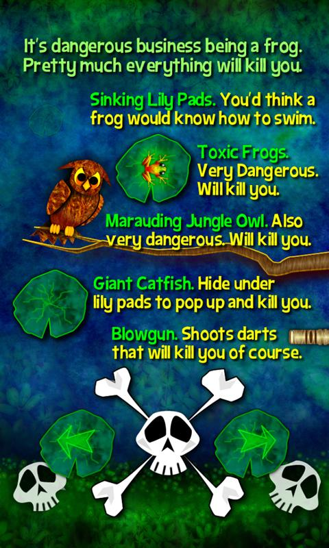 Toxic Frog- screenshot