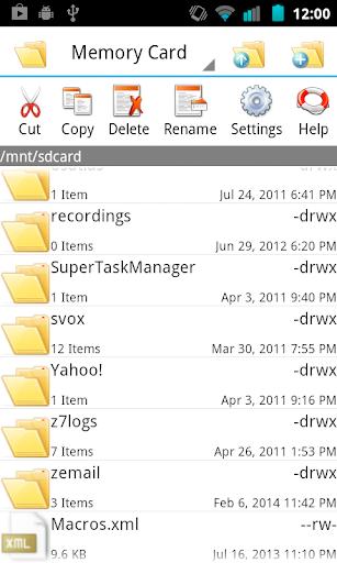 Technomiser File Manager