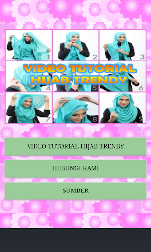 Video Tutorial Hijab Trendy