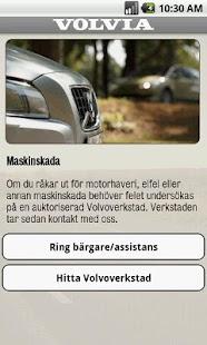 Volvia - Försäkring för Volvo - screenshot thumbnail