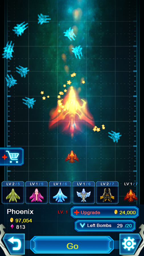 Galaxy Falcon - Six Fighters- screenshot