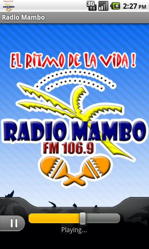 Radio Mambo- screenshot