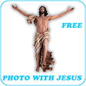 Photo with Jesus