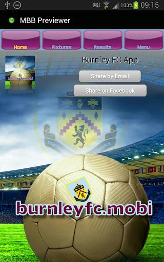 Burnley FC Mobi