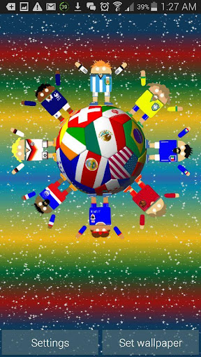 玩個人化App|世界のサッカーロボットの背景免費|APP試玩