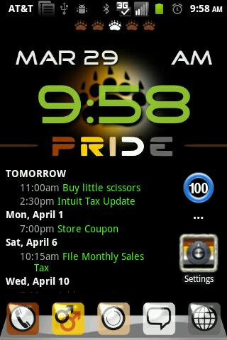 Bear Pride GO Launcher Theme