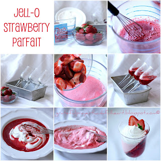 JELL-O STRAWBERRY PARFAIT.