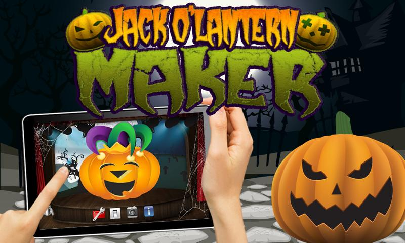 Halloween Pumpkins Nexus 7 - screenshot