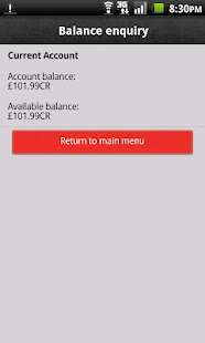 HSBC Fast Balance- screenshot thumbnail