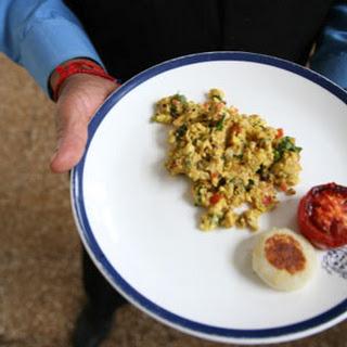 Parsi-Style Scrambled Eggs.