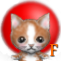 Clock cat .f icon