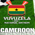 CAMEROON VUVUZELA and ANTHEM! logo