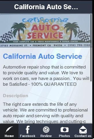 California Auto Service