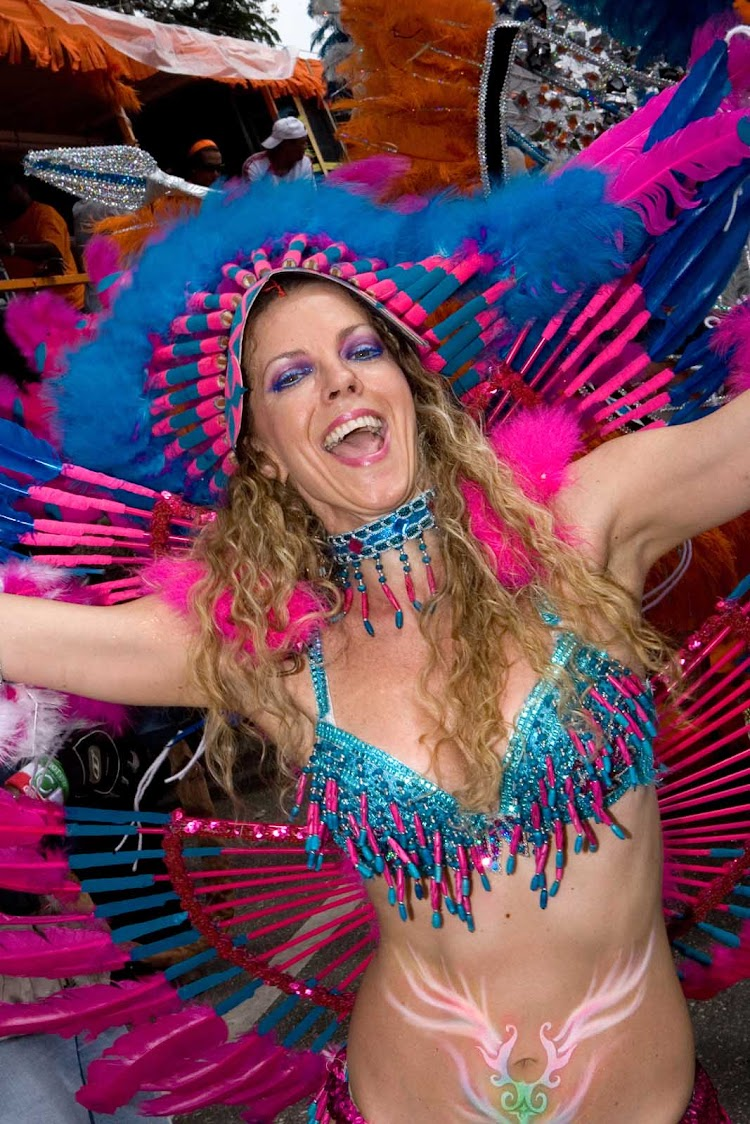 Carnival on Trinidad and Tobago in the Caribbean.