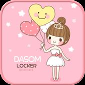 Ballerina go locker theme
