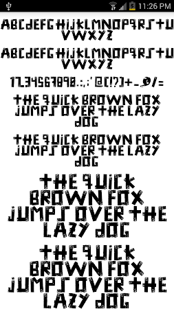 Fonts for FlipFont #15 3.19.1 screenshot 2090734