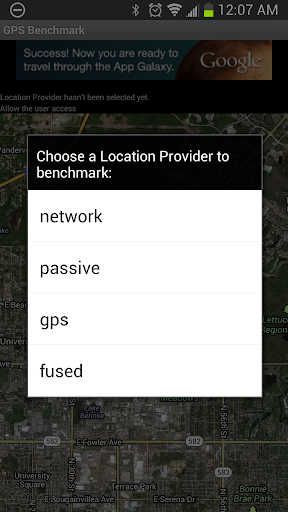 GPS Benchmark