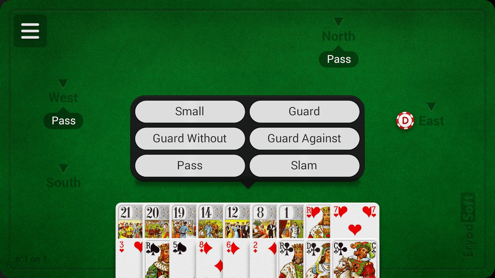 how to play tarot cards