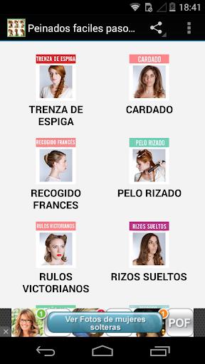 Peinados paso a paso español
