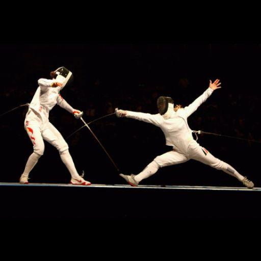 Fencing wallpaper , 壁紙 フェンシング