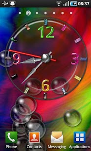 Cool Bubble Clock - screenshot thumbnail