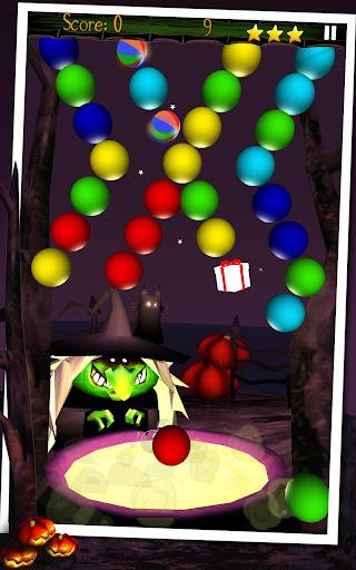 Мыльные пузыри Halloween для планшетов на Android