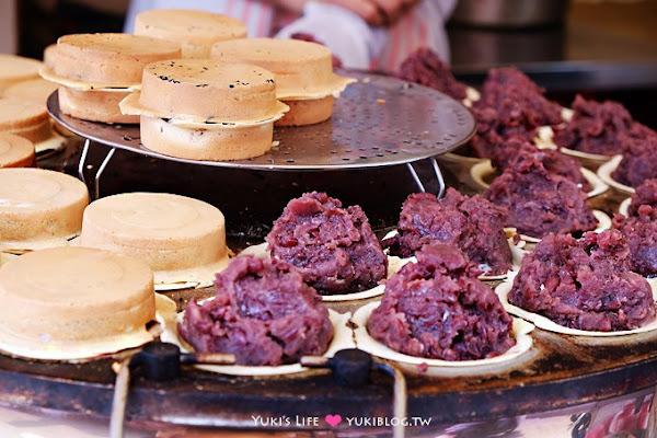 台北東區【晴光紅豆餅】爆多料的好吃車輪餅~~好美味喔! @忠孝復興站