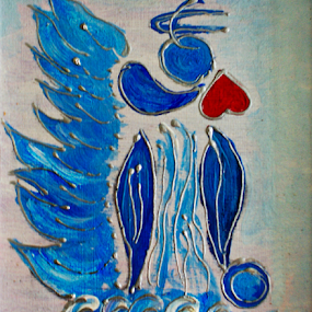 Angel by Branka Radmanić - Painting All Painting