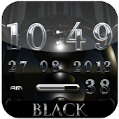 Black Diamond digital Clock