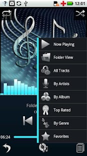 Compact Theme - Euphony MP - screenshot thumbnail